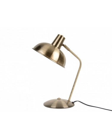 Present time - Leitmotiv Table lamp Hood brushed gold plated iron