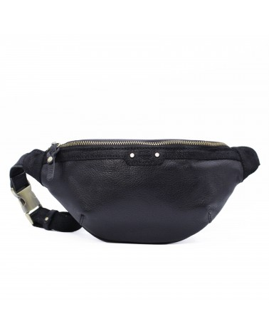 Mila louise Leather Banana bag PETRA