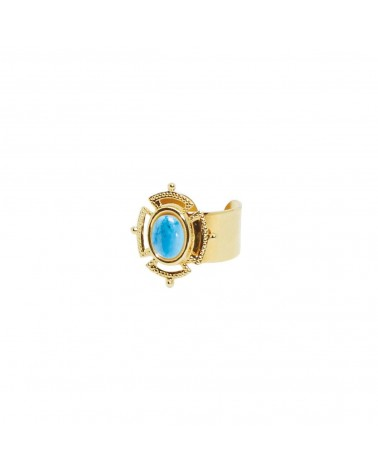 Nilai Jewels Victoria Ring 24K Golden Plated