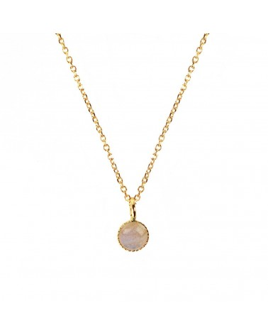 Nilai Jewels Athena Necklace 24K Golden Plated
