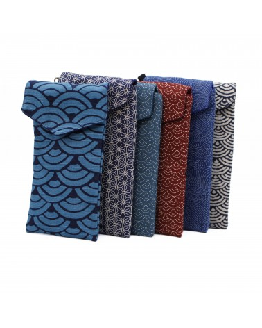 TheWan - SAO MAI Japanese cotton Case for glasses or phone pouch
