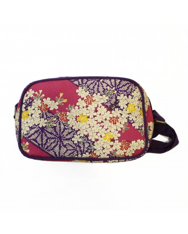 TheWan - SAO MAI Rectangular Japanese cotton shoulder bag Sakura pink