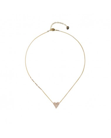 Mishky - Collier artisanal perles cousues main HEARTSY NECKLACE-GP-S-7590
