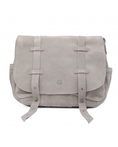 Mila louise - Sac Bess Croute Gris