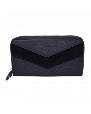 Mila Louise - PATSY Black Leather Wallet