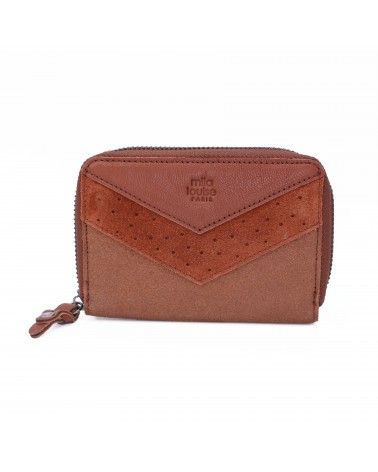Mila Louise - PAT Rust Leather Wallet