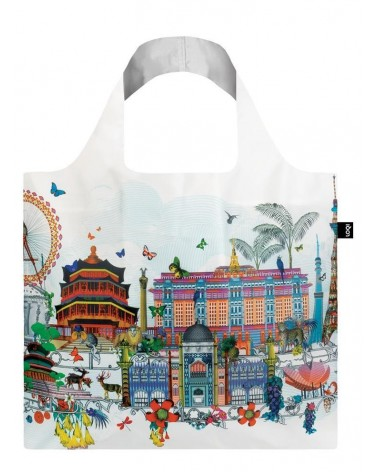 LOQI - Sac de courses pliable Kristjana S Williams Interiors World Skyline