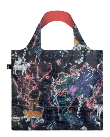 LOQI - Sac de courses pliable  Kristjana S Williams Interiors World Map