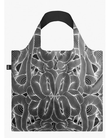 LOQI - Sac de courses pliable  SAGMEISTER & WALSH BEAUTY PATTERN