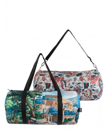 LOQI - Sac Weekender pliable et reversible Museum MAD Paysage