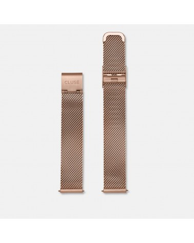 CLUSE -  Strap 16 mm Mesh Rose gold/Rose Gold