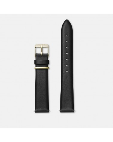 CLUSE -  La Tétragone Strap 16 mm Black/Gold