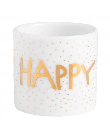 Rader - Photophores Porcelaine Happy Birthday