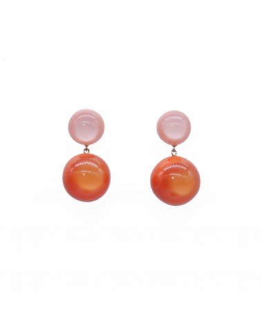 ZSISKA - Boucles d'oreilles BOLAS 2 Beads pin Combination 3056