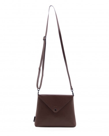 Tinne+Mia - Sac bandoulière Envelope bag Chocolate Red