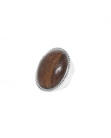 Nature Bijoux - GREENWAY grosse bague ovale robles 54