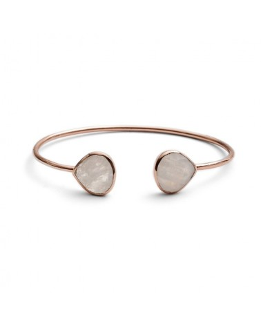 Azuni Lashea Teardrop Peach moon store Gold Plated Bangle