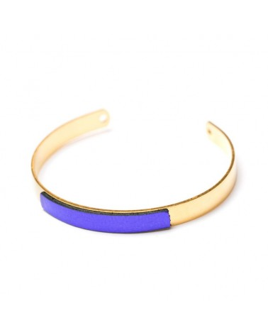Bracelet réglable Olympe Charly James Violet