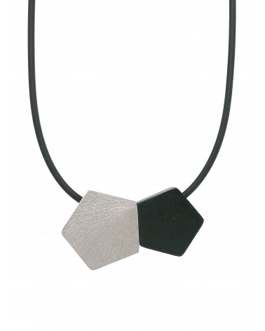 Collier 2 pentagones 1643 Culture Mix