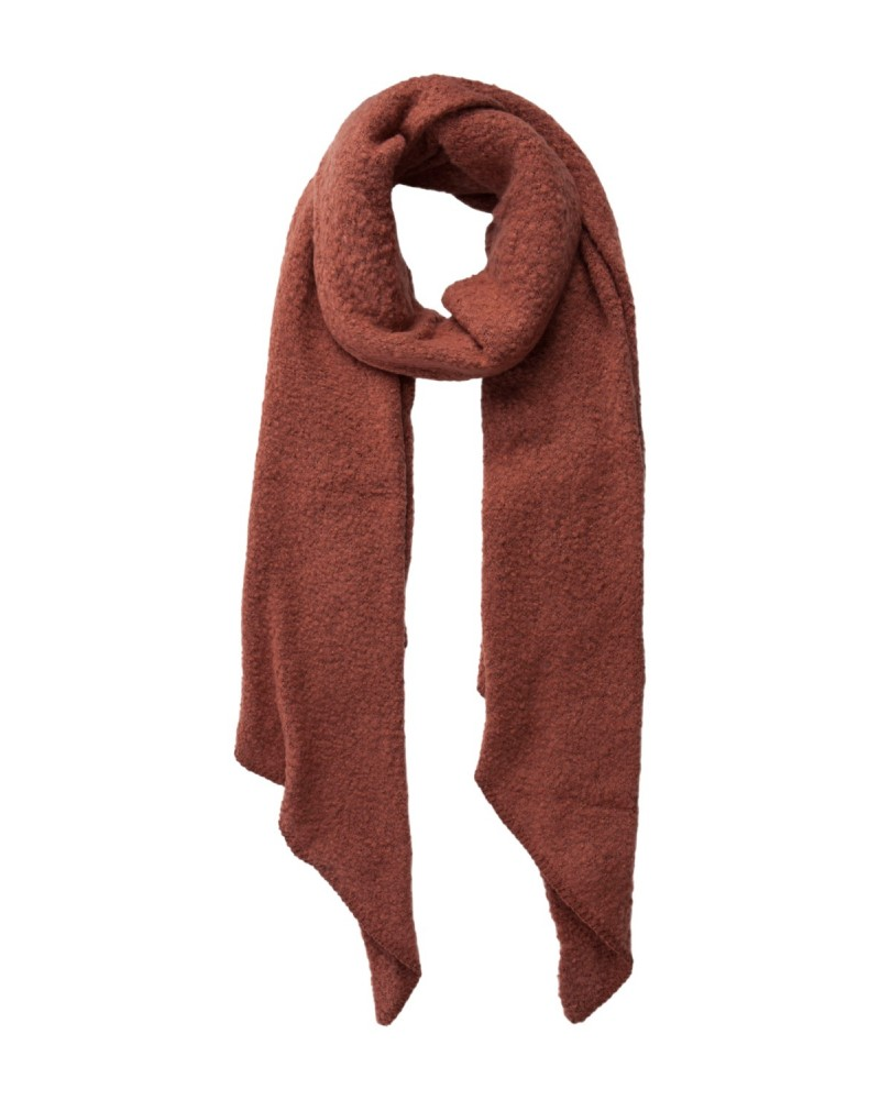PIECES - Echarpe PCPYRON STRUCTURED LONG SCARF Mocha Bisque