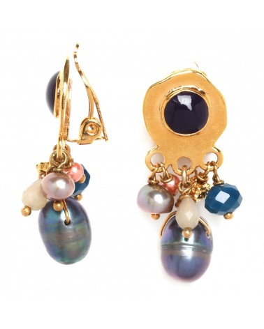 LILY boucles clips multipampilles - Franck Herval