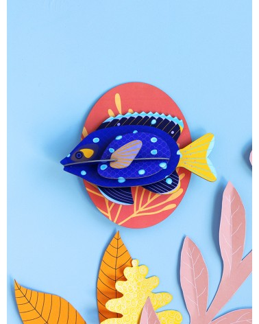 Studio ROOF - Décoration Murale Poisson Jewel Damselfish