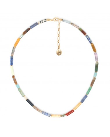 PIPELINE collier pierres - Nature Bijoux