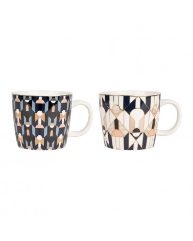 SEMA Design - Lot de 2 Tasses en porcelaine NEO