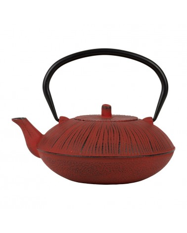 SEMA DESIGN - Cast Iron teapot plate Sillon Red