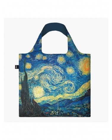 LOQI - Foldable shopping bag Museum VINCENT VAN GOGH The Starry Night