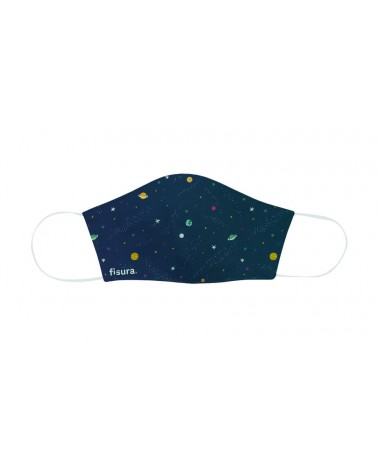 Fisura - Masque de protection faciale enfant Galaxy