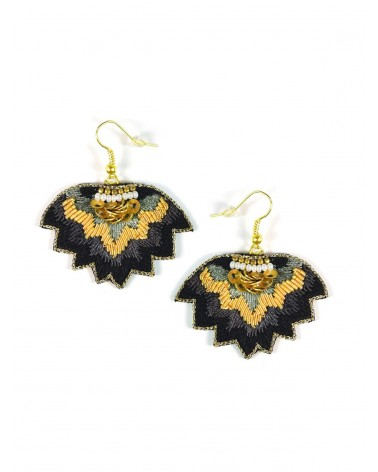 Earrings MADI Carbone NAHUA
