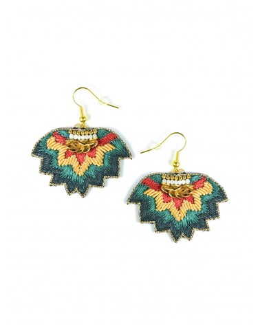 Earrings MADI Forest NAHUA