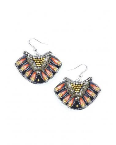 Earrings NIDHI Coral NAHUA