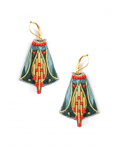 Earrings APO Forest NAHUA