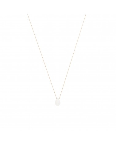Moonstone Drop Necklace Une A Une