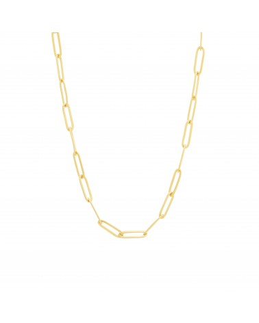 Link necklace Gold Une a Une