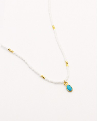Nilai - Necklace Little India Turquoise