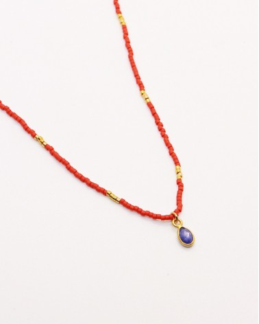 Nilai - Necklace Little India Quartz Saphir