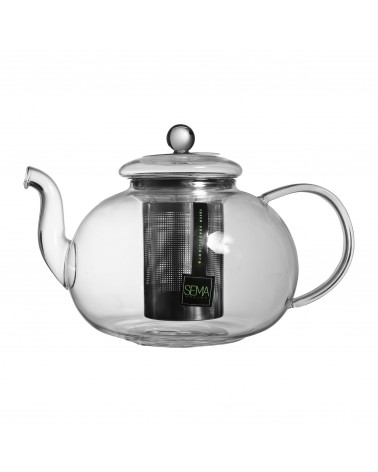 SEMA Design - Glass teapot with filter 1.4L