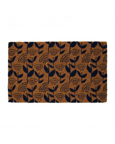 SEMA Design - Doormat Vegetal Girly Navy Blue 73cm x 43 cm