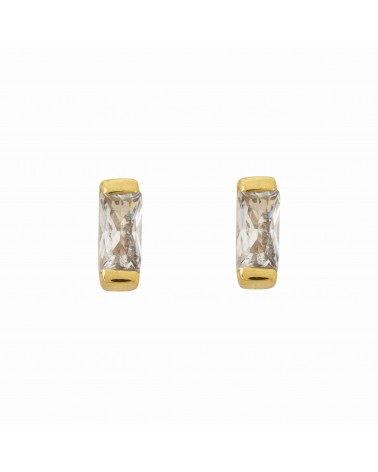 Une A Une - EARRINGS CRYSTAL WHITE