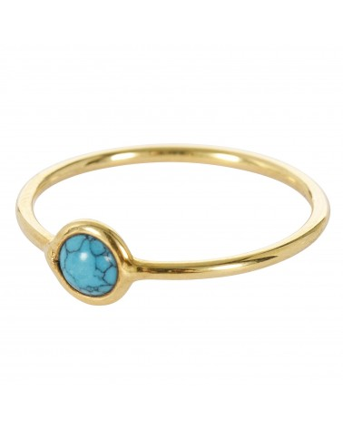 Une a Une SOLITAIRE RING TURQUOISE