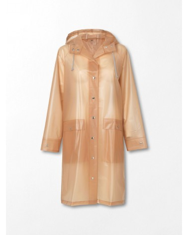 Transparent Magpie Raincoat Muted Clay