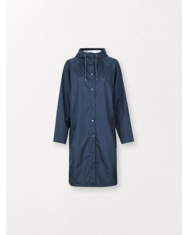 Solid Magpie Raincoat Navy Blue Beck Sondergaard