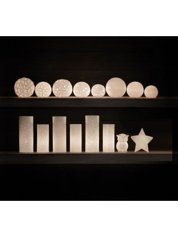 Lampe porcelaine Hibou SEMA