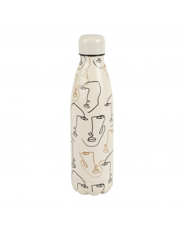Visage Arty 50CL Stainless Steel Water Bottle Sema Design