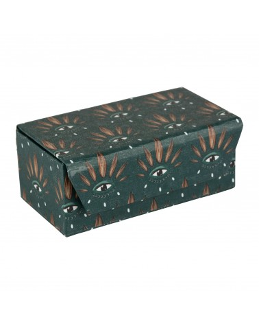 Jewellery box PEP'S POP Green 10 x 6 x H 5 cm SEMA Design