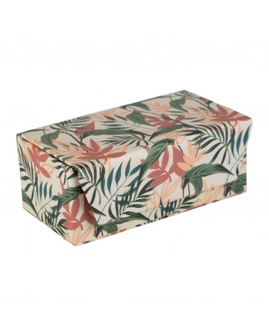 Jewellery box PALMEO Green 10 x 6 x H 5 cm SEMA Design