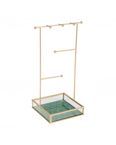 Jewelry holder PEP'SPOP Emerald Gold SEMA Design